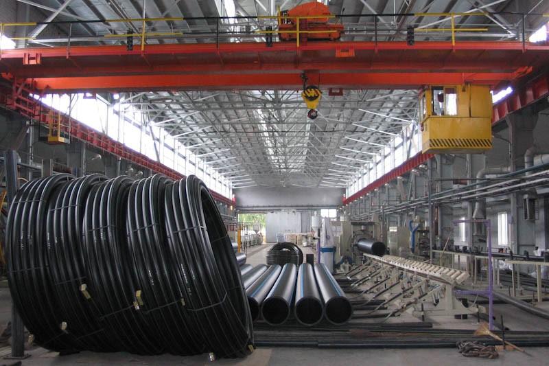 производство, пластиковые трубы