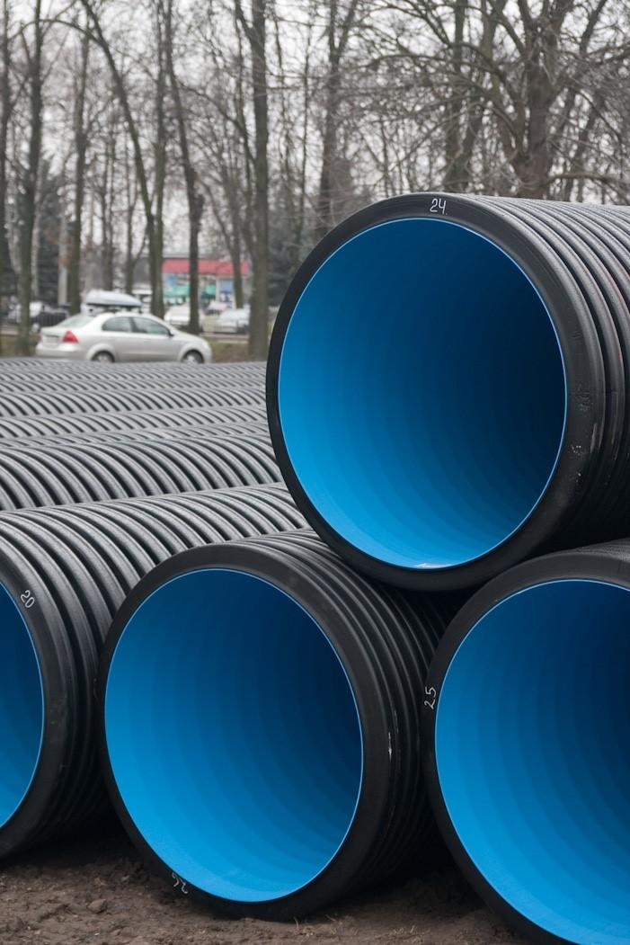 производство РФ, пластиковые трубы