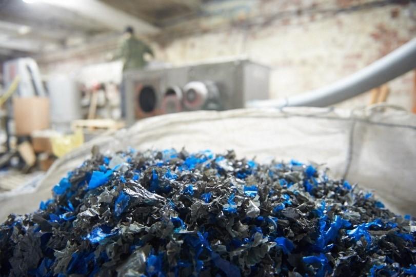 переработка сырья компанией СТИ Пласт